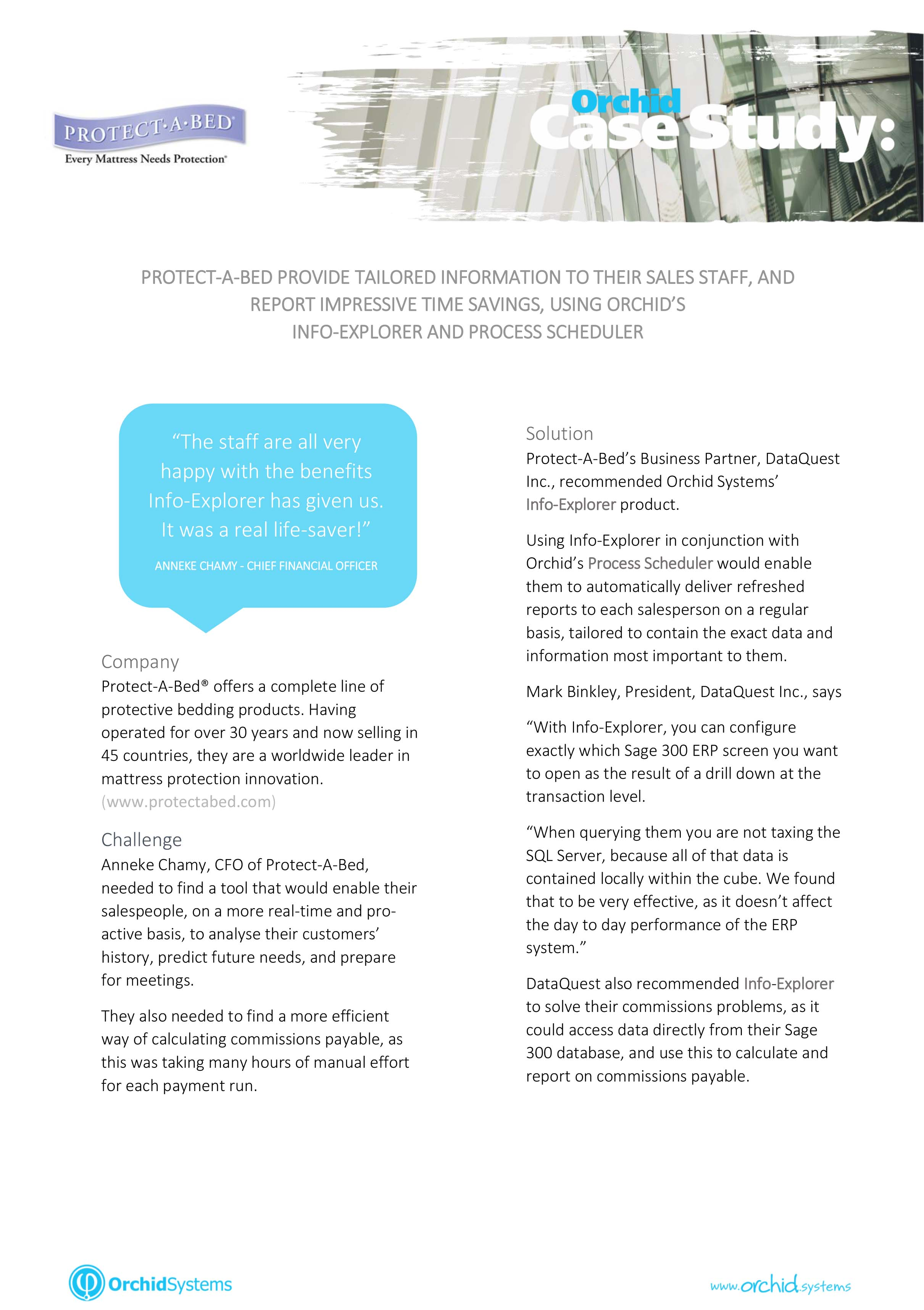 case study an information system Case study technology implementation   for more information on the case study,  providing a system for adequate post go-live support.