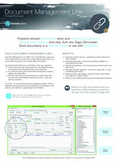Document Management Link Brochure