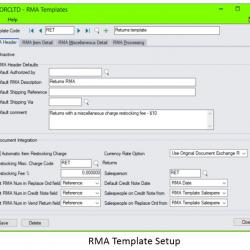 RMA Screenshot