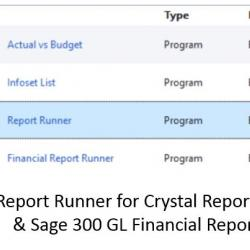 Report Runner | Orchid Systems