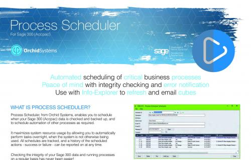 Process Scheduler Brochure